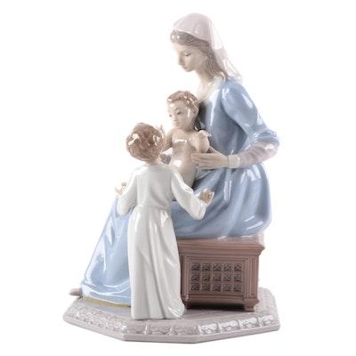 "Lladró ""Bless the Child"" Porcelain Figurine Designed by Vincente Martinez"
