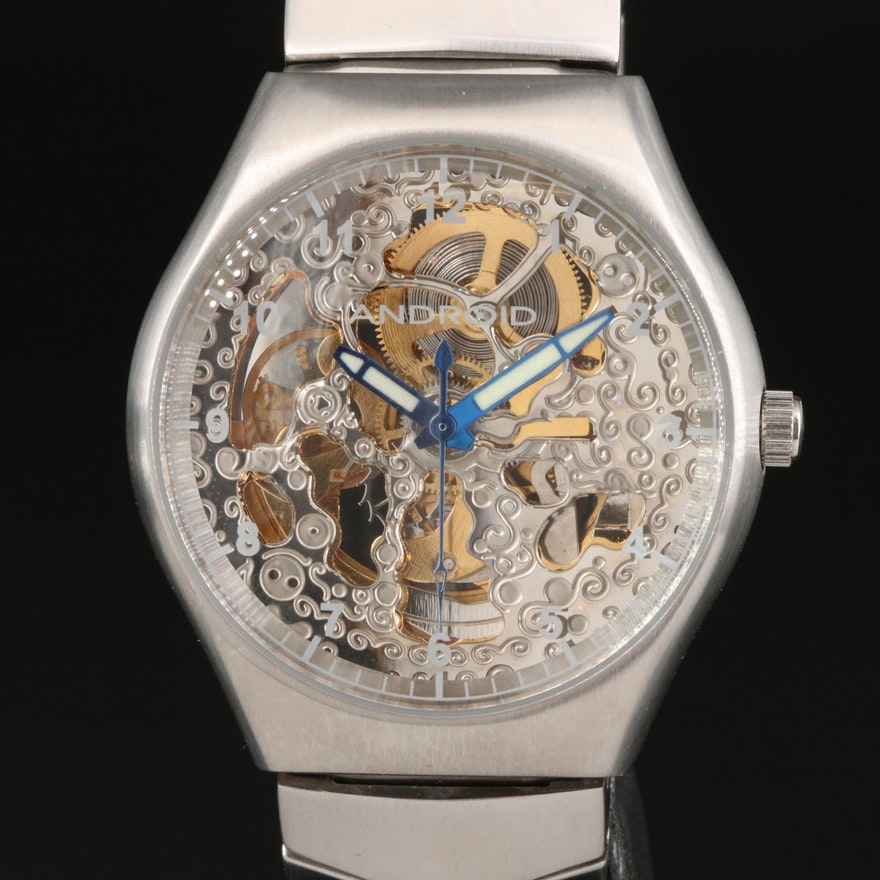 Android Challenger Stainless Steel Automatic Wristwatch
