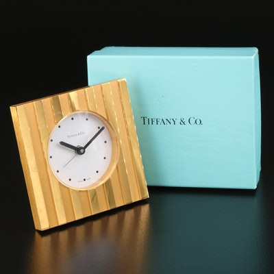 Tiffany & Co. Swiss Made Quartz Alarm  Clock