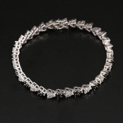 14K 5.35 CTW Diamond Bracelet