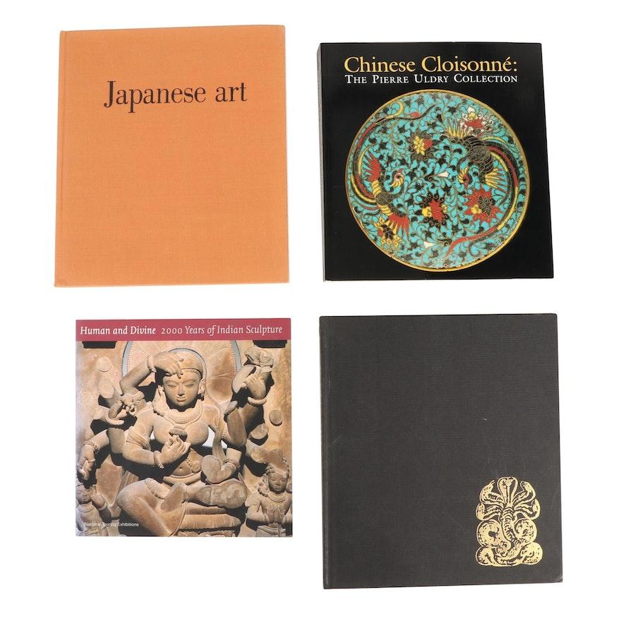 "Asian Art Books Including ""Indian Art"" by Marguerite-Marie Deneck"