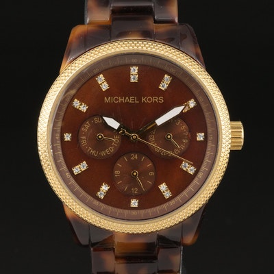 "Michael Kors ""Tortoise"" Wristwatch"