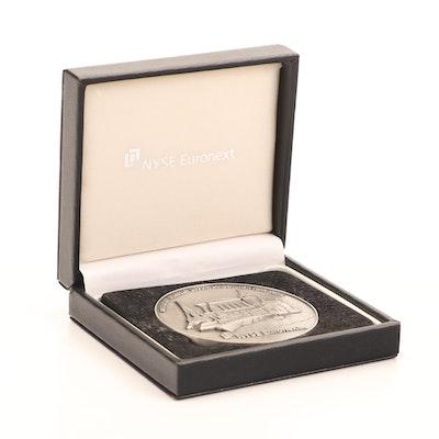 NYSE Euronext Commemorative Medallion, 2012