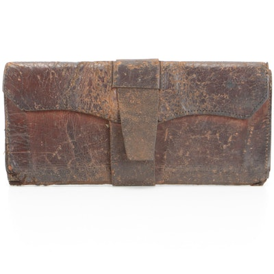 Handcrafted Leather Wrap Wallet