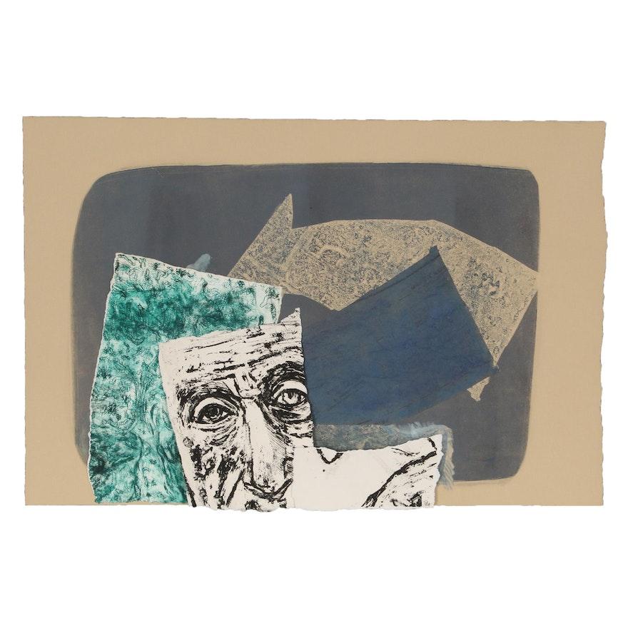 Sherrill Eskew Massey Abstract Mixed Media Prints