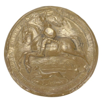 Replica of The Great Seal of Charles I King of England From 1625-1649