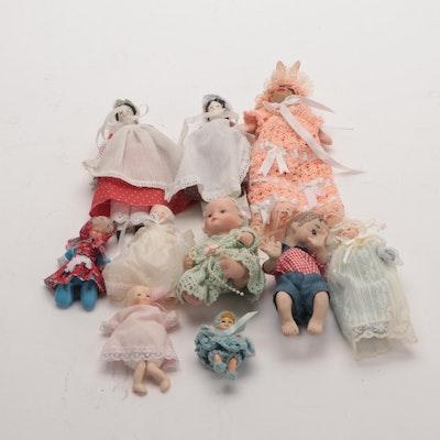 Porcelain Miniature Doll Collection