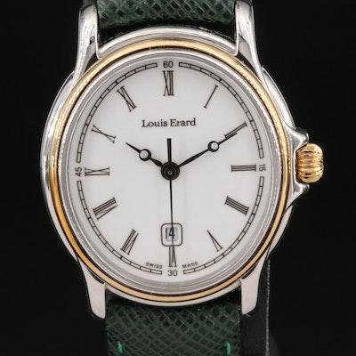 Louis Erard Stainless Steel Two-Tone Quartz Wristwatch