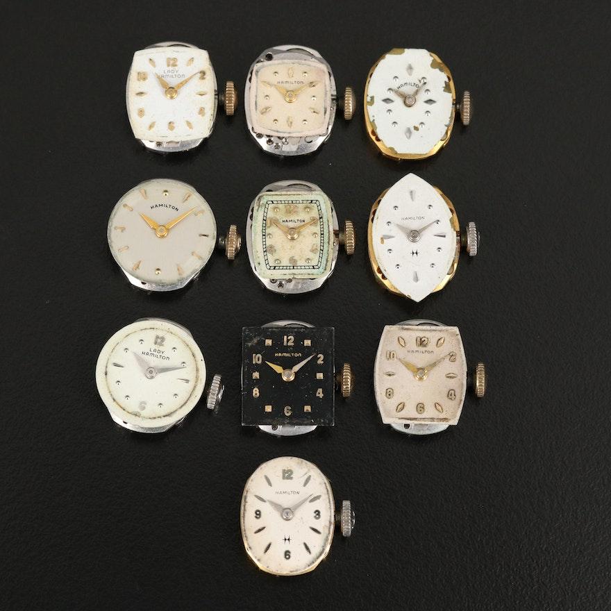 Collection of Hamilton Timepieces