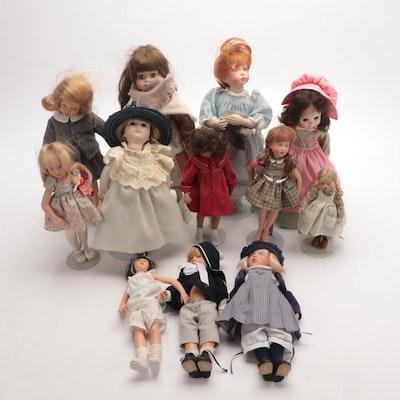 Effanbee, Little Match Girl Porcelain Dolls