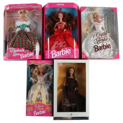 Barbie Collection, Including Crystal Splendor Barbie