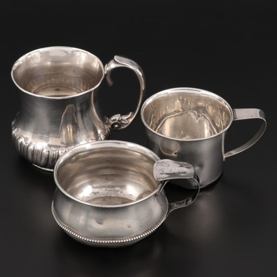 Gorham and Other American Sterling Silver Cups and Tastevin