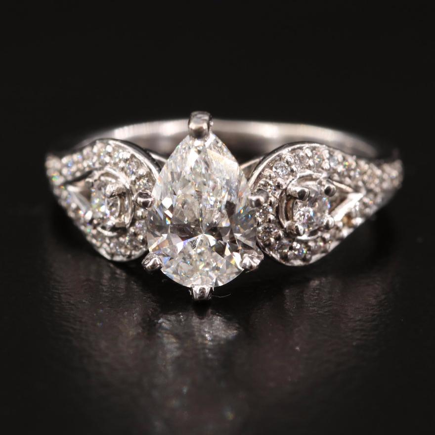 14K 1.47 CTW Diamond Ring