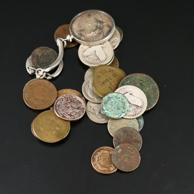 American Coinage and Tokens, Including Silver