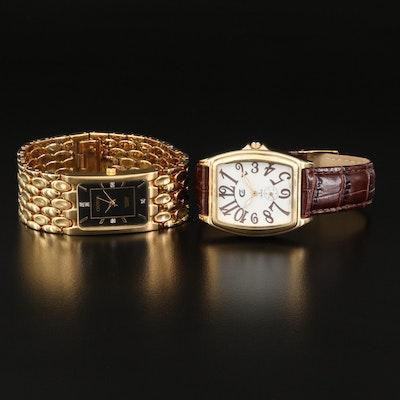 Two Croton Quartz Wristwatches