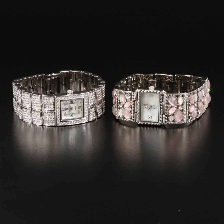 Pair of Croton Quartz Wristwatches
