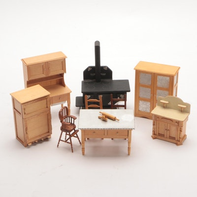 Handmade Dollhouse Furniture, 1981
