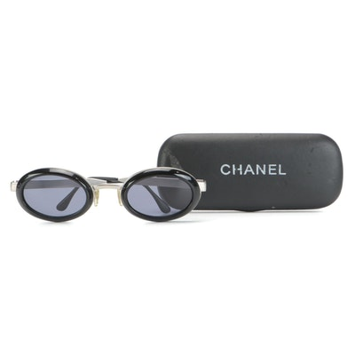 Chanel 09610 Oval Sunglasses with Case
