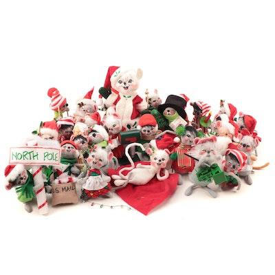 Annalee Mobilitee Doll Christmas Figurines