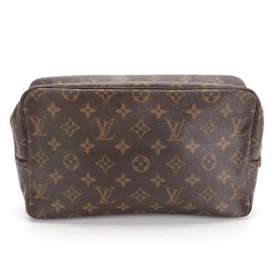 Louis Vuitton Trousse Toilette 28 Cosmetic Bag in Monogram Canvas