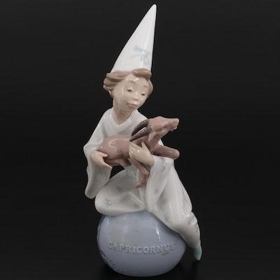 """Lladró """"Capricorn"""" Porcelain Figurine Designed by Salvador Debón"""