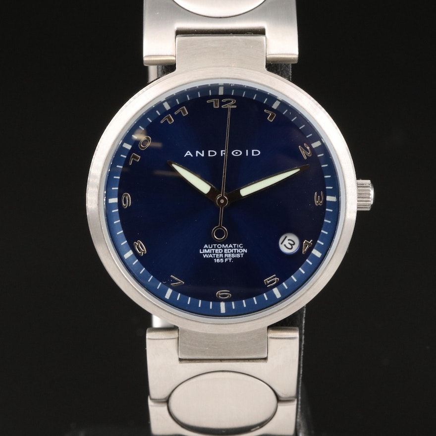 Android Apollo Stainless Steel Automatic Wristwatch