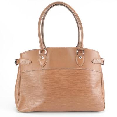 Louis Vuitton Passy GM Shoulder Bag in Canelle Epi Leather