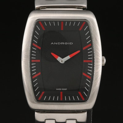 Android Voyager 2 Stainless Steel Quartz Wristwatch