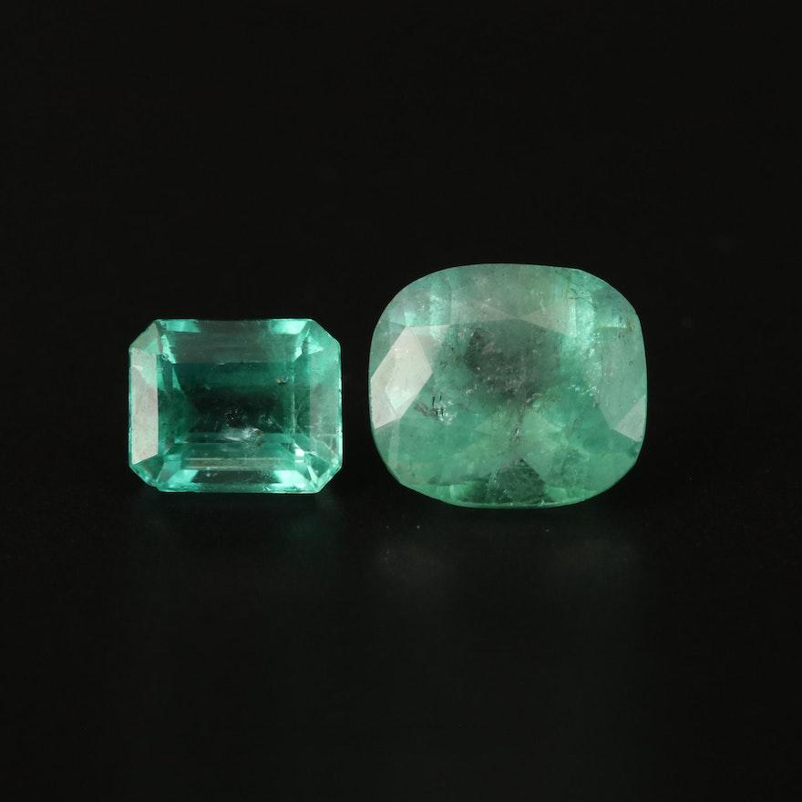Loose 3.86 CTW Emerald