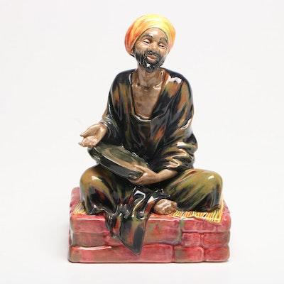 """Royal Doulton """"Mendicant"""" Porcelain Figurine"""