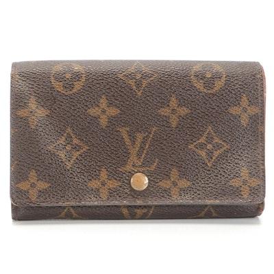 Louis Vuitton Porte-Monnaie Billets Trésor in Monogram Canvas