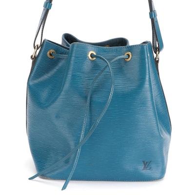 Louis Vuitton Noé Bucket Bag in Toledo Blue Epi Leather