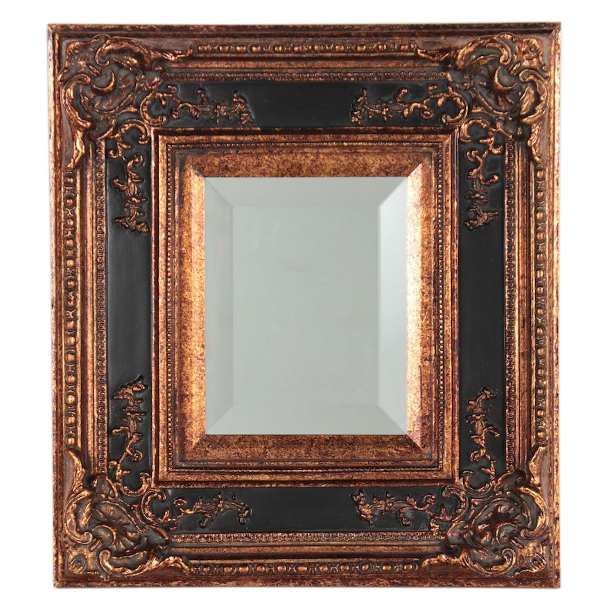 Victorian Style Wall Mirror, Late 20th Century