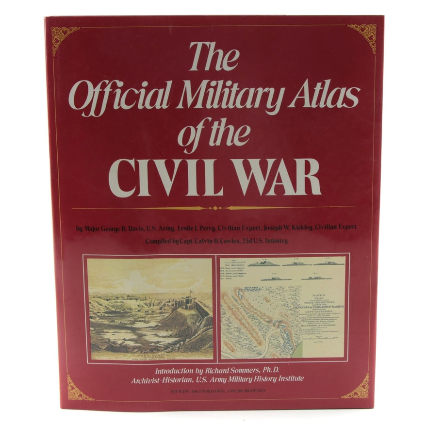 """""""The Official Military Atlas of the Civil War"""" by George B. Davis, 1983"""