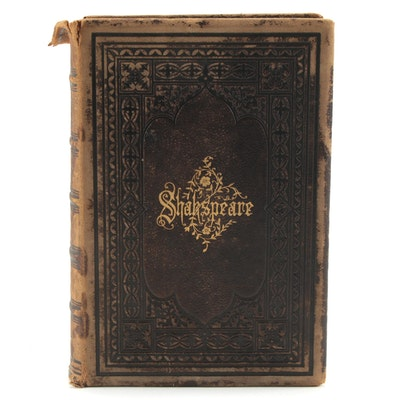"""""""The Works of William Shakespeare"""" Knight's Pictorial Edition, 1880"""