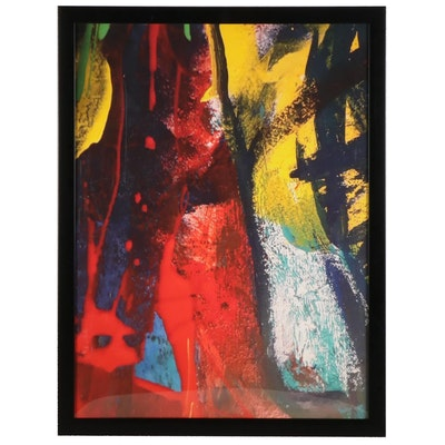 MahLeah Cochran Abstract Expressionist Giclée, 21st Century
