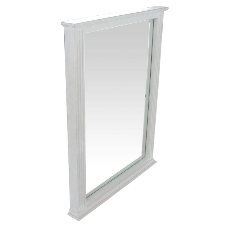 """25"""" Rectangular Vanity Mirror in White"""