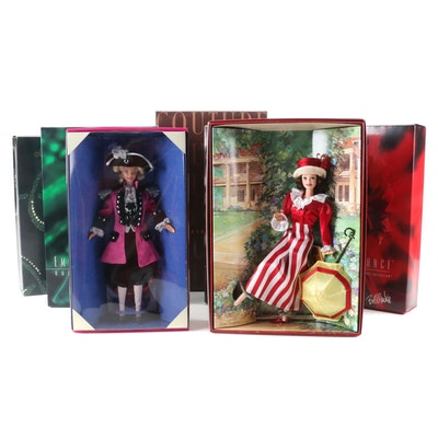 Barbie Collection, Including Emerald Enchantment and Ruby Radiance Barbie