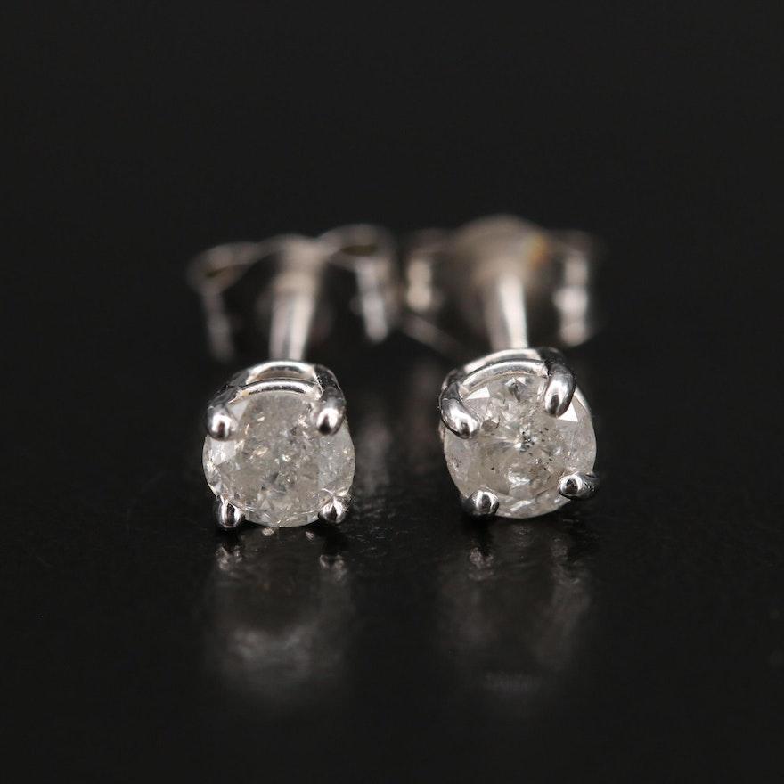 14K 0.42 CTW Diamond Stud Earrings