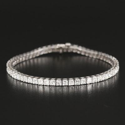14K 7.50 CTW Diamond Line Bracelet