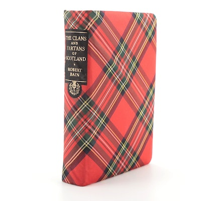 """Illustrated """"The Clans and Tartans of Scotland"""" by Robert Bain, 1950"""