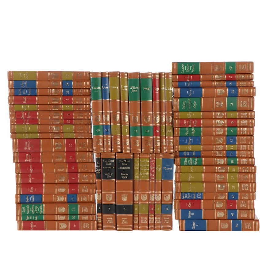 """Britannica """"Great Books of the Western World"""" Fifty-Four Volume Set, 1952"""