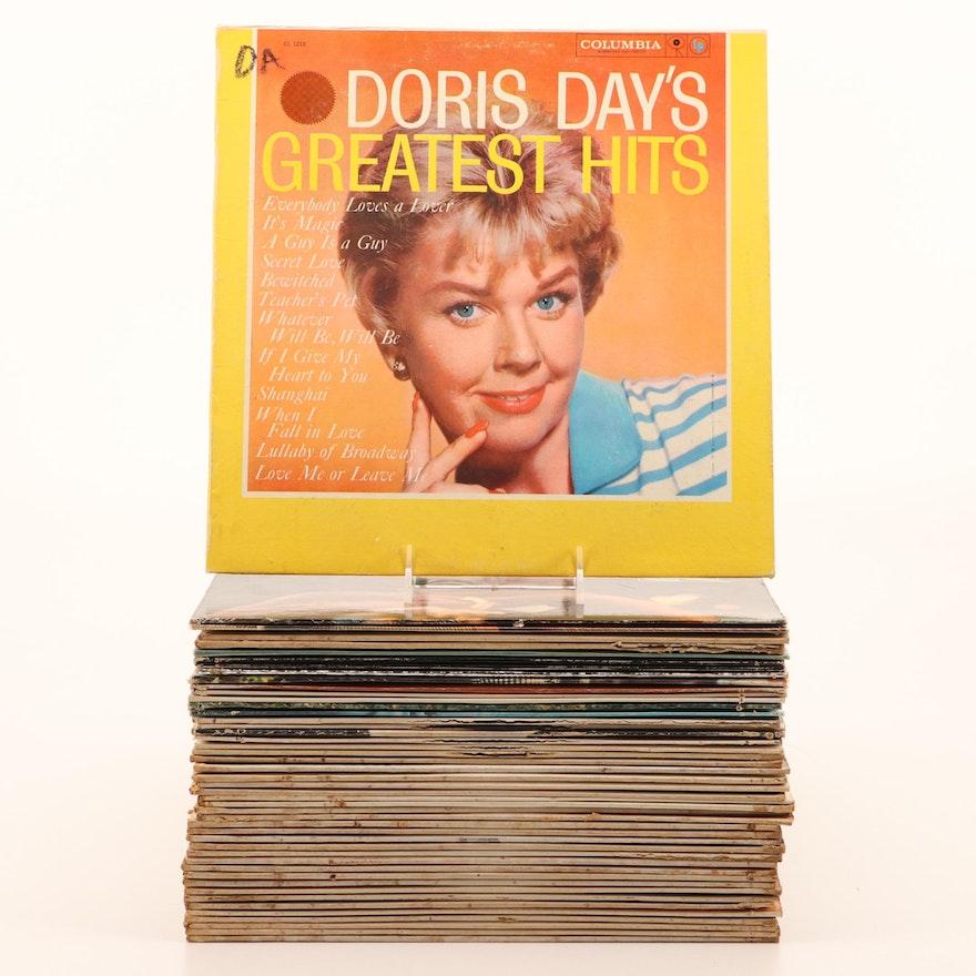 Vinyl Albums from the 1950's, Easy Listening, Light Jazz, Pop
