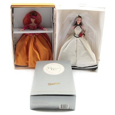 Designer Barbies Including Vera Wang, Christian Dior, Couture
