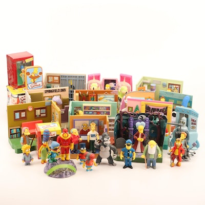 The Simpsons Playsets, Duff Dice Game, Cards and More