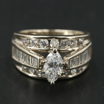 14K 1.61 CTW Diamond Ring