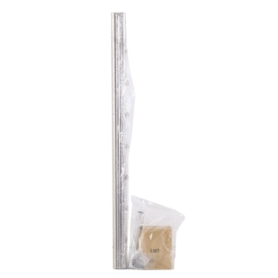 Corner Shower Curtain Rod in Brushed Nickel