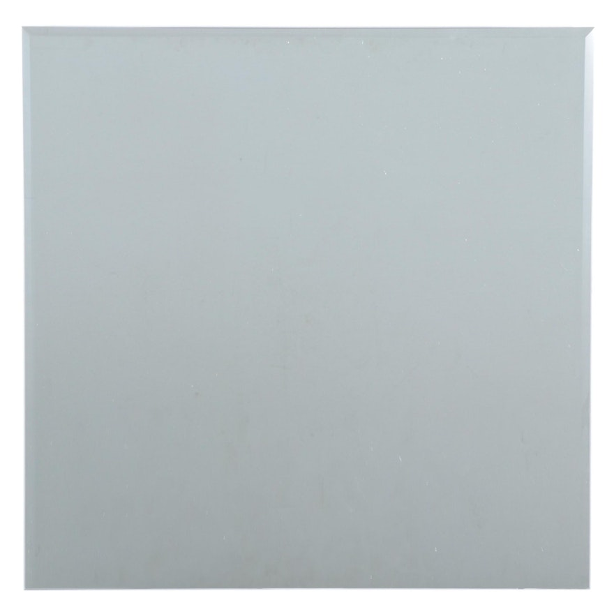 """28"""" Square Mirror with Beveled Edges"""