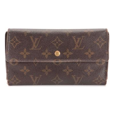 Louis Vuitton Porte-Trésor International Wallet in Monogram Canvas