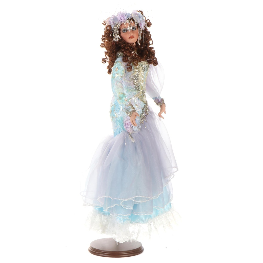 """Rustie """"Arielle"""" Limited Edition Porcelain Doll, 1999"""